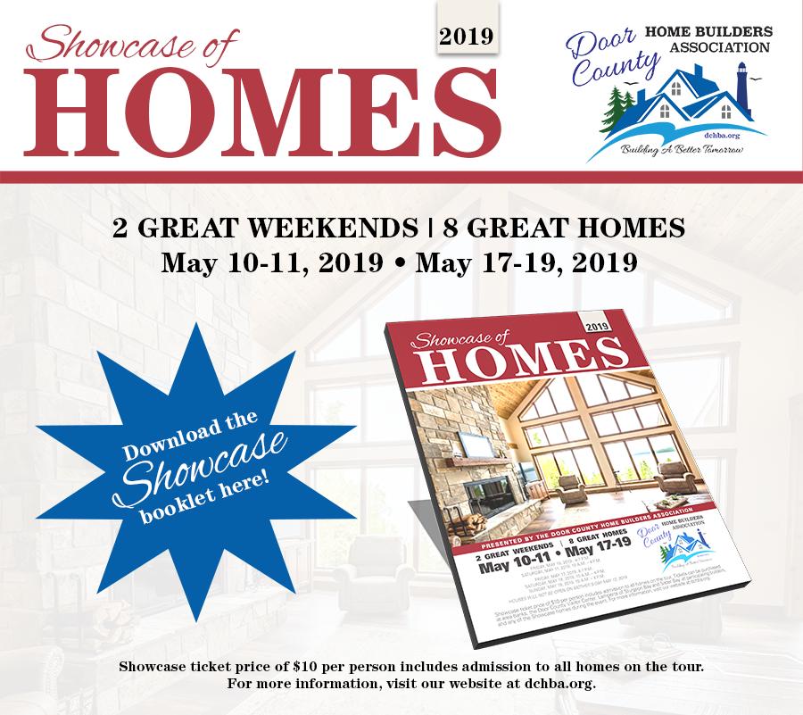 2019 Door County Home Builders Association Showcase of Homes
