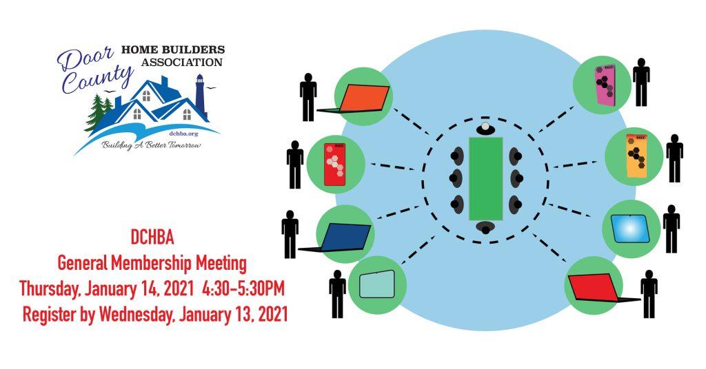 Door County Home Builders Association January member meeting